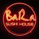 BaRa sushi house neon sign
