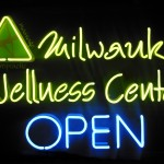 milwaukie wellness center neon sign