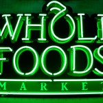 whole foods neon sign