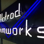neon of logo name